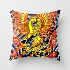Phoenix Throw Pillow