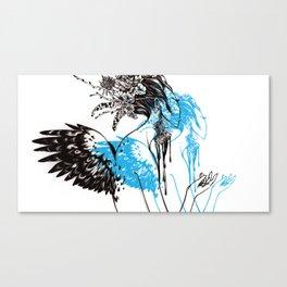 Spirit Willing Canvas Print