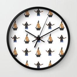 Kimye Pattern Wall Clock