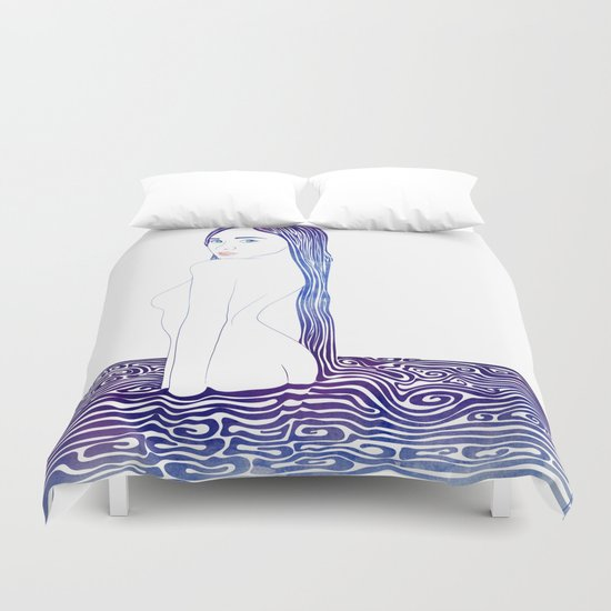 Water Nymph XXIX Duvet Cover