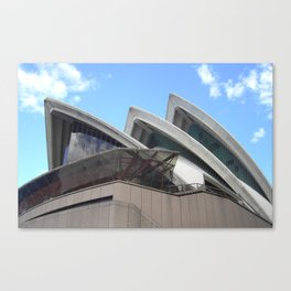 Looking up at the Opera Canvas Print