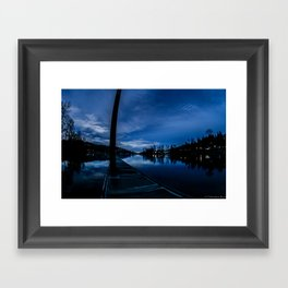 Lake Oswego Oregon Framed Art Print