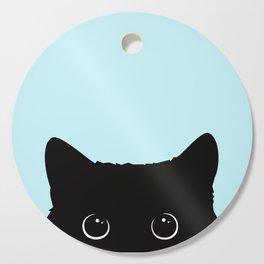 Black cat I Cutting Board