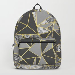 Ab Marb Grey Returned Backpack