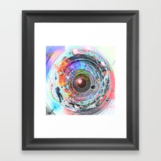 Watchful eye Framed Art Print