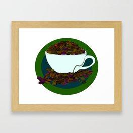How do you like your coffee? Framed Art Print