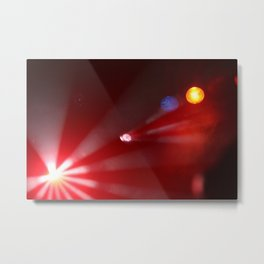 lights @ Toad's Place Metal Print