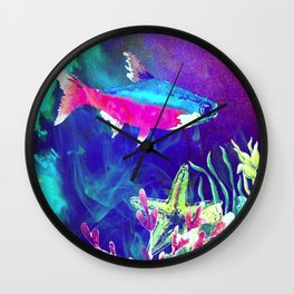 Underwater World 1 Wall Clock