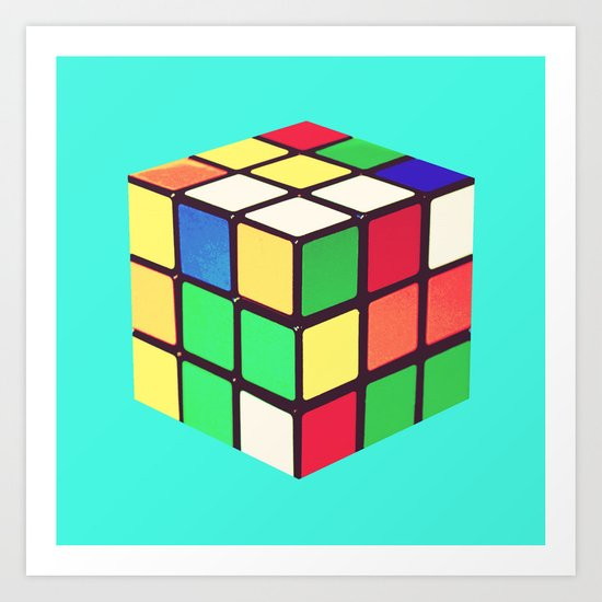 Do You Even Cube, Bro?  |  Rubik's Art Print
