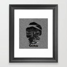 Tornface Framed Art Print
