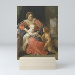 Guido Reni - Virgin and Child with Saint John the Baptist Mini Art Print