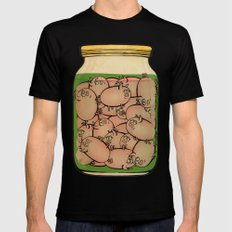 Pickled Pig Revisited Black MEDIUM Mens Fitted Tee