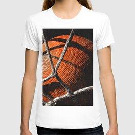 Basketball artwork vx cx 5 T-shirt