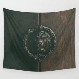 Lion Door Wall Tapestry