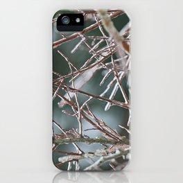 Icy Plant iPhone Case