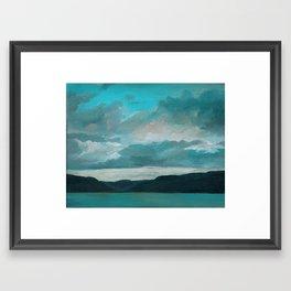 Evening at Bear Lake Framed Art Print