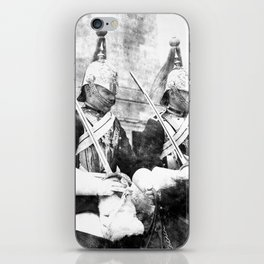 Household Cavalry Changing Of The Guard Vintage iPhone Skin