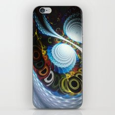 Swirls iPhone & iPod Skin