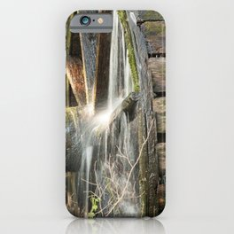 Wooden Grist Mills Water Wheel iPhone Case