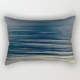 Beautiful Calm Coastal Waters Rectangular Pillow