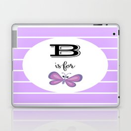 B for Butterfly Laptop & iPad Skin