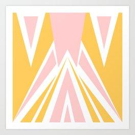Cute Triangles Art Print