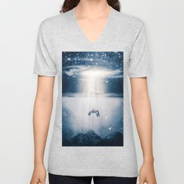 Ascent or Descent by GEN Z Unisex V-Neck