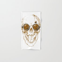 Skull Coffee Hand & Bath Towel