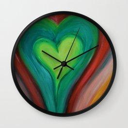 A Kind Heart Wall Clock