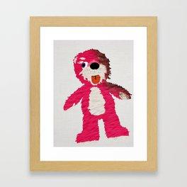Breaking Bad Teddy Bear Framed Art Print