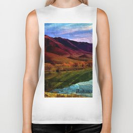 Autumn is Colorful Biker Tank