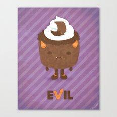 Devil's Food Cake Canvas Print