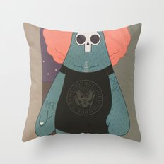 King of the streets Throw Pillow