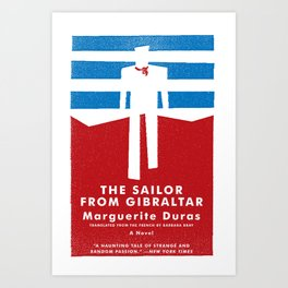 The Sailor from Gibraltar Art Print