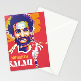 Mohamed Salah Stationery Cards