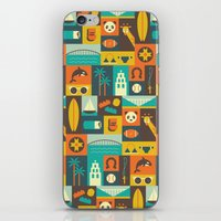 san diego iPhone & iPod Skins featuring San Diego  by Ariel Wilson