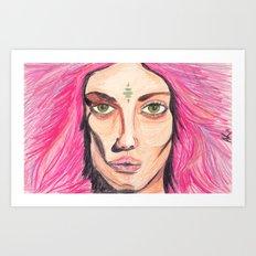 w!ldch!ld Art Print