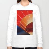 hot air balloon Long Sleeve T-shirts featuring Hot Air Balloon by DistinctyDesign