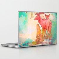 archan nair Laptop & iPad Skins featuring Rebirth by Archan Nair
