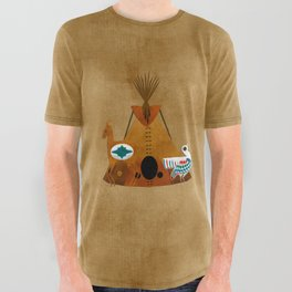 Mother Earth All Over Graphic Tee