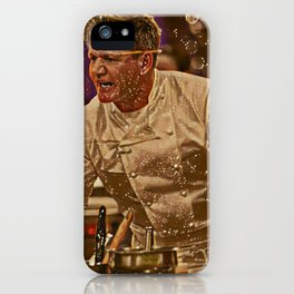 Gordon Ramsay Artistic Illustration Sparkle Style iPhone Case