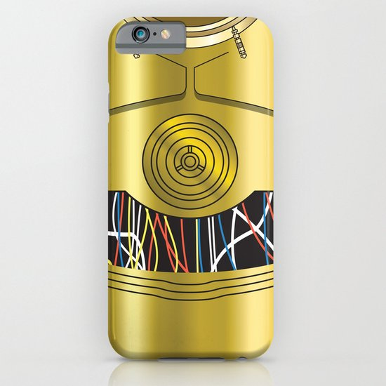 Star Wars C3PO Vector iPhone & iPod Case