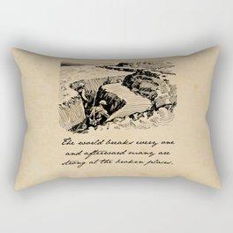 A Farewell to Arms - Hemingway Rectangular Pillow