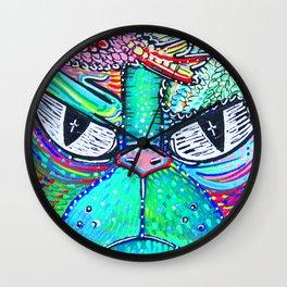 Psychedelic Vision Wall Clock