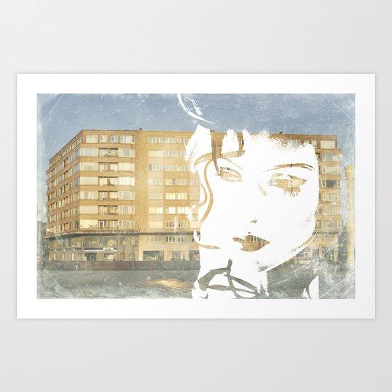 URB'ART Art Print