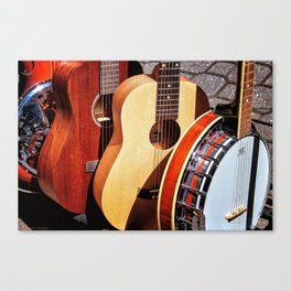 Strings Attached Canvas Print