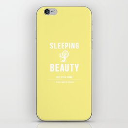 Disney Princesses: Sleeping Beauty Minimalist iPhone Skin