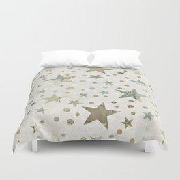 Patchwork Stars Pattern Duvet Cover