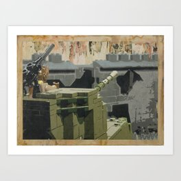 The Taking of Berlin Art Print