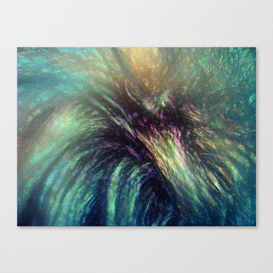 Bischon Flower Canvas Print